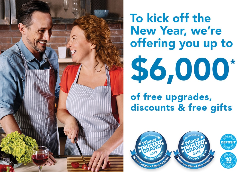 $6000 of free upgrades, discounts and free gifts