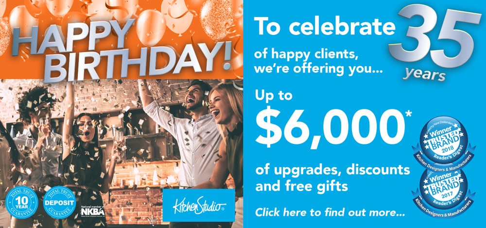 $6,000 of free upgrades, discounts and free gifts