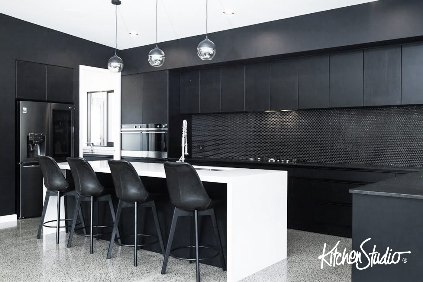 Kitchen Studio Design Awards 9 • A Black and White Decision by ...