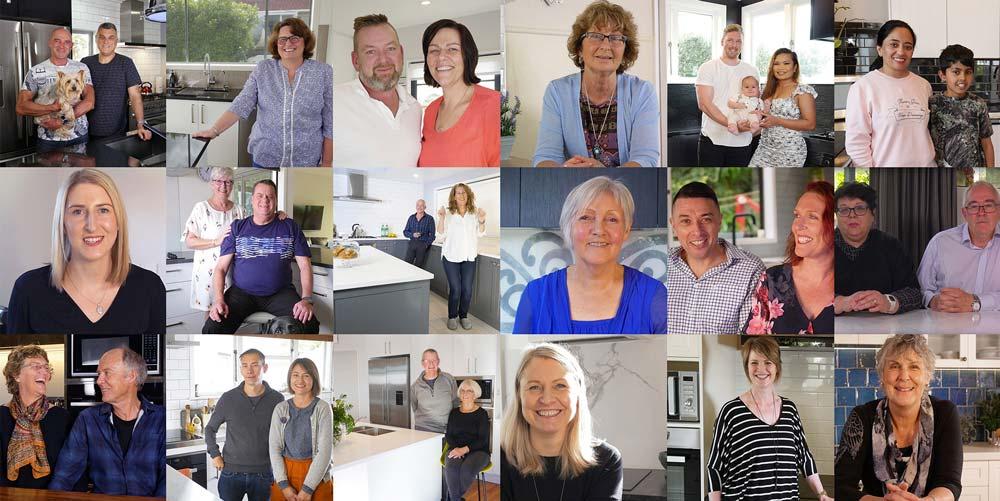 Kitchen Studio Happy Clients