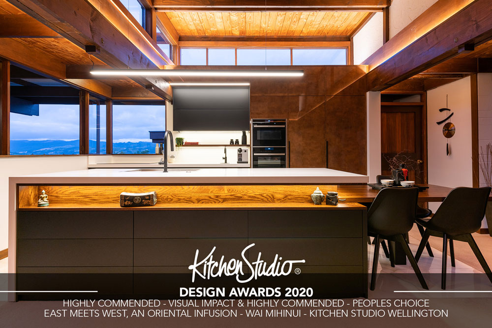 Award Winning Kitchen Design 2020 - Kitchen Studio - Wai Mihinui
